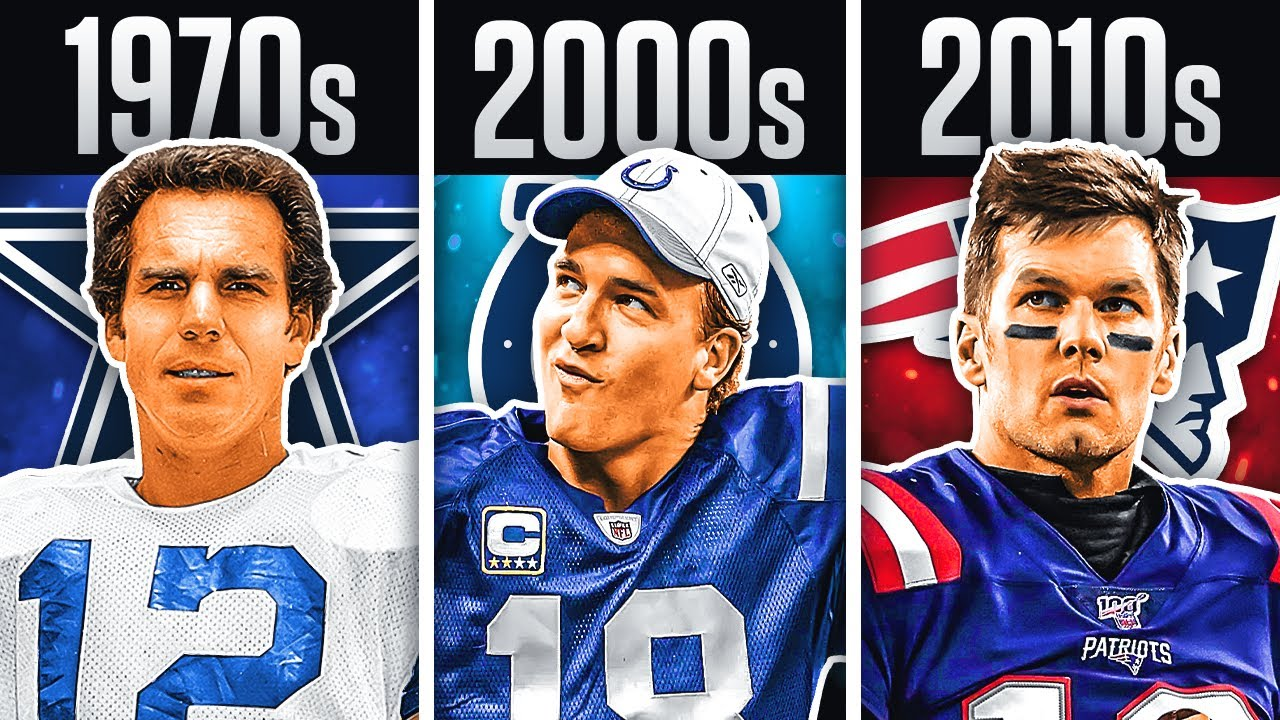 BEST Quarterback From Every Decade In NFL History