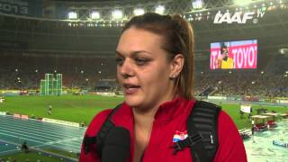 Moscow 2013 - Sandra PERKOVIC CRO - Discus Throw Women Final - Gold