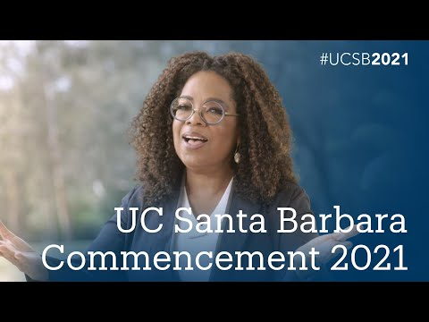 UC Santa Barbara 2021 Commencement Ceremony