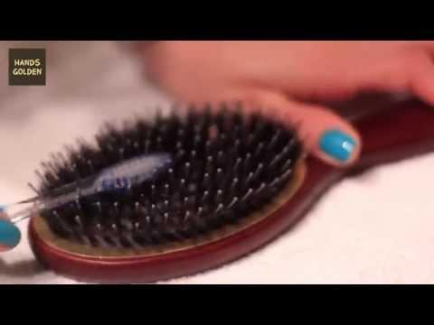 Как почистить расческу для волос