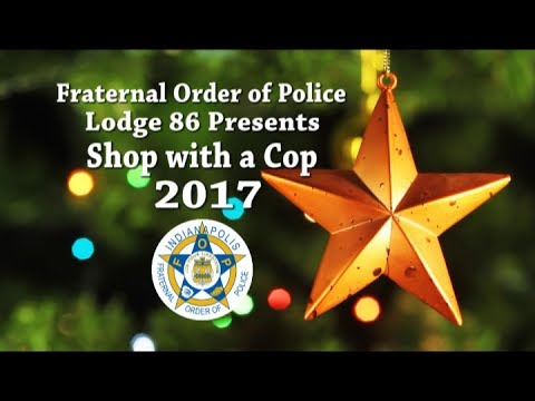 FOP Lodge 86 Shop With A Cop 2017