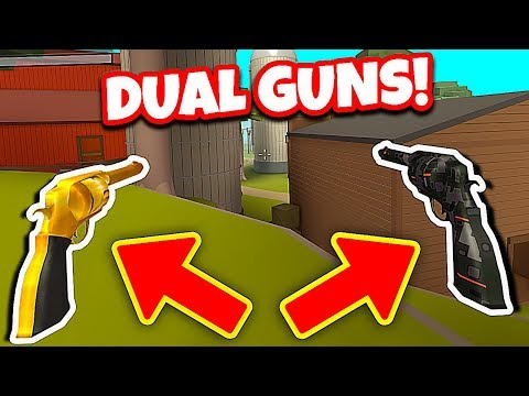 BUYING THE NEW DUAL PERK! *CRAZY* (Roblox Wild Revolvers)