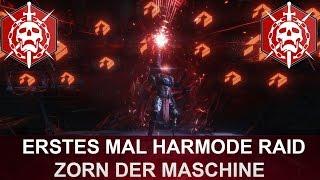 Destiny: Das erste mal HARDMODE Zorn der Maschine Raid (LIVE REACTIONS)