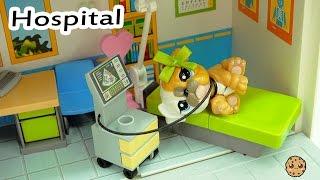 Hospital Time - LPS Mommies Series Littlest Pet Shop  - Part 71 Cookieswirlc Video