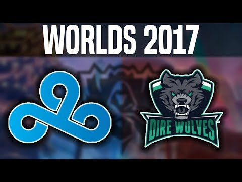 C9 vs DW - Worlds 2017 Play In Day 2 - Cloud9 vs Dire Wolves   Worlds Championship 2017