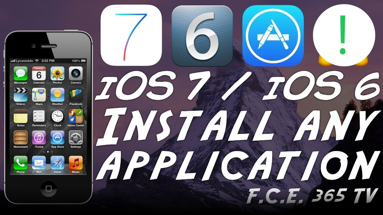 How To Install Unsupported Apps On Ios 7 1 2 Or Ios 6 Any Iphone