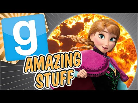 Gmod Amazing Stuff - Cannon Fodder