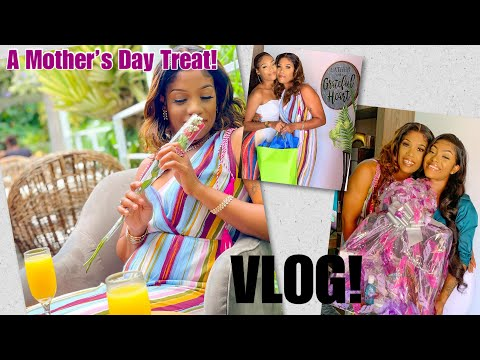 A Mother's Day Treat | Shopping  | A COMPLETE BRUNCH FAIL! | Vlog #26