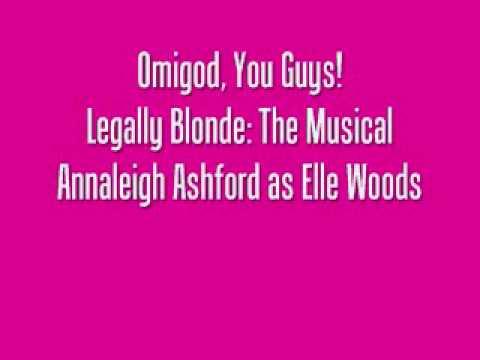 Annaleigh AshfordOmigod You Guys!