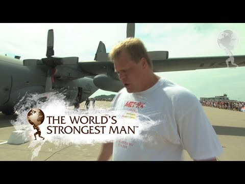 2008 Plane Pull: Phil Pfister | World's Strongest Man