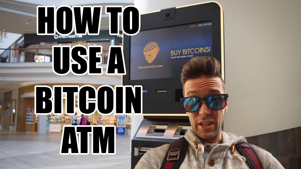 Bitcoin Atms  How To Use Them