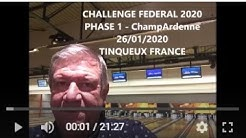 Challenge fédéral phase 1 ChampArdenne 26 01 2020 Tinqueux