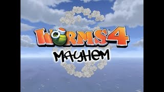 Worms 4 Mayhem Gameplay