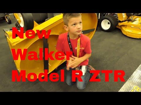 New Walker Model R ZTR - First Look! The Best Homeowner Zero-Turn?