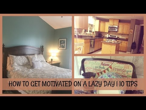 HOW TO TURN A LAZY DAY INTO A PRODUCTIVE DAY