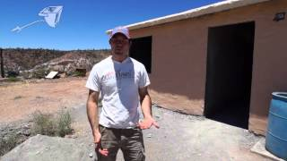SCIP Panel Home Construction on the Apache Reservation Amor Minstries San Carlos AZ