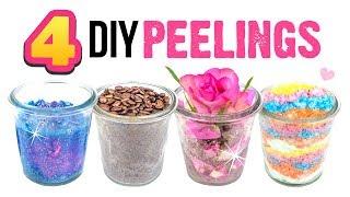 DIY Peelings für den Sommer 🌈 REGENBOGEN PEELING ⭐ Galaxy Peeling