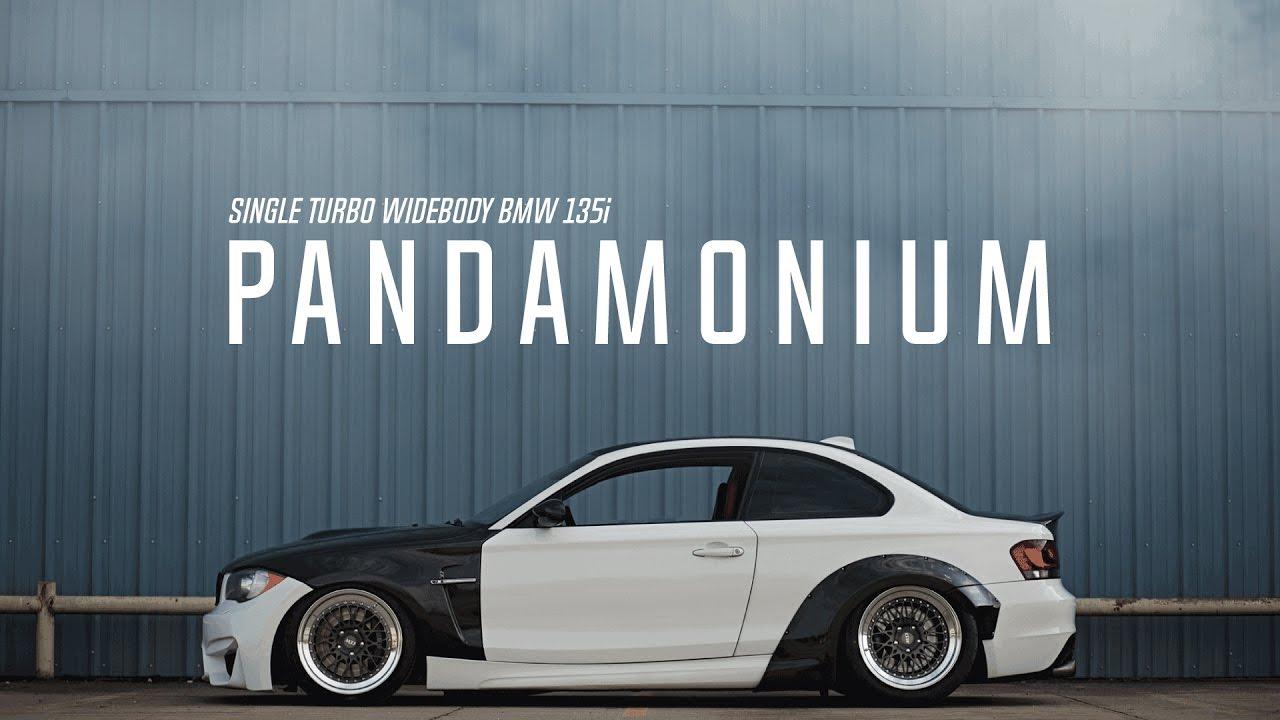 Bmw M3 Convertible >> Pandamonium: Single Turbo Widebody BMW 135i - YouTube