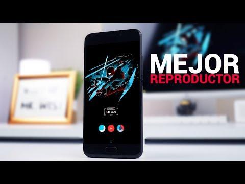 Nuevo mejor reproductor de música Android  Versión S8 EDGE 2017
