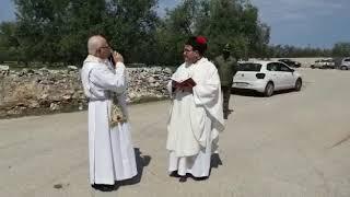 La benedizione dei campi circostanti il Casale di Giano - Video Pinuccio Rana