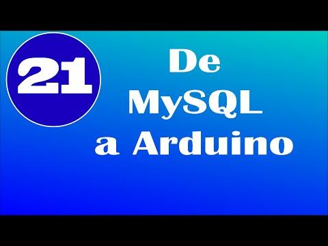 De MySQL a Arduino