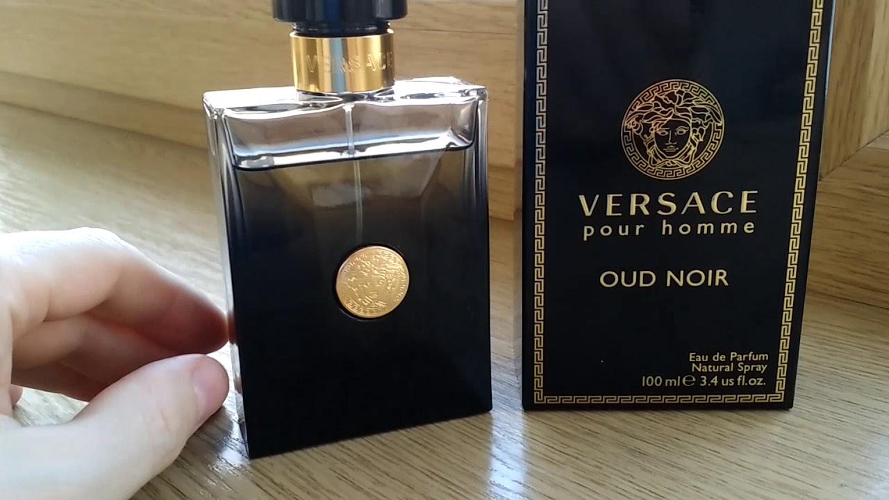 Versace - pour homme Oud Noir. Обзор. - YouTube fadfa243f5b