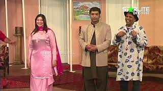 Khushboo Nasir Chinyoti and Qaiser Piya New Pakistani Stage Drama Full Comedy Clip
