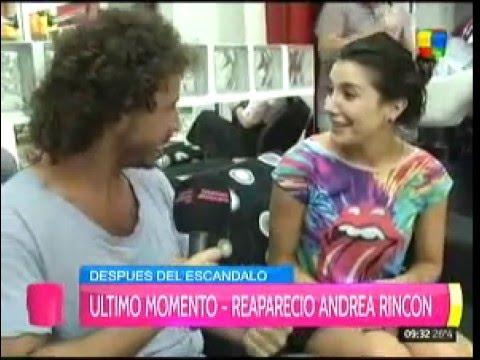 Andrea Rincón: Estoy muy bien