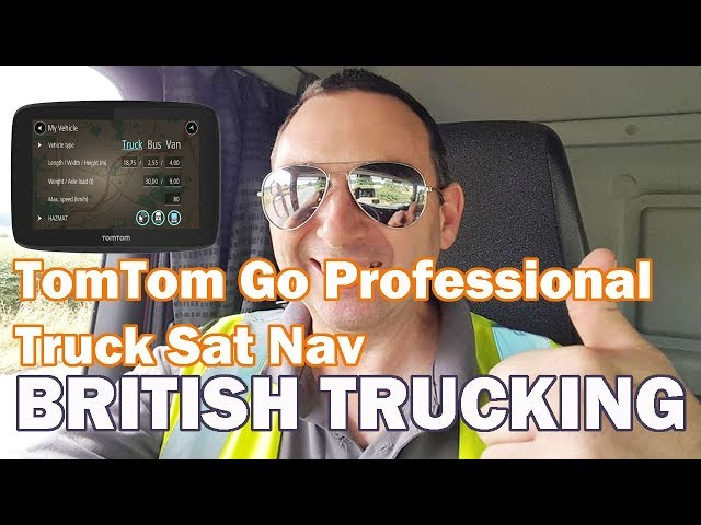 Truck Sat Nav TomTom go professional Ultimate for lorry Driving