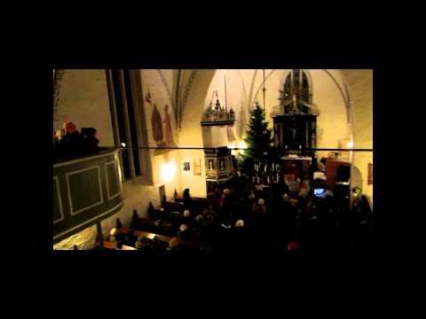 Musical Auftritt Kirche Brüel Schulhofspatzen Dezember 2013