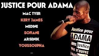Justice pour Adama à La Cigale (Youssoupha, Kery James, Fianso, Mac Tyer, Dosseh...)