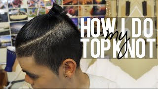 How I do my Top Knot! w/ Hanz de Fuko! ッ Thumbnail