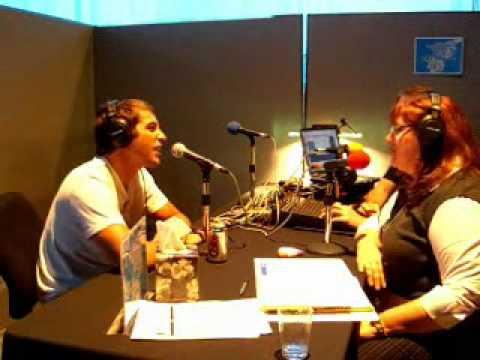 Jonathan Togo talking with Dana Greenlee