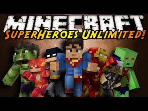 скачать superheroes unlimited minecraft 1.5.2