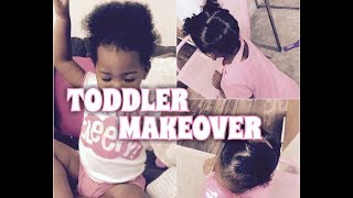 Toddler Hair Routine | Cute Simple Style