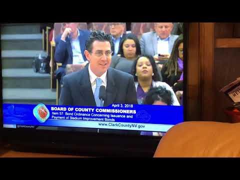 Clark County Officials Call Las Vegas Stadium Bonds General Obligation