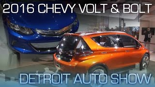 2016 Chevrolet Volt Goes Mainstream, Bolt is an EV for the Masses - Detroit Auto Show 2015