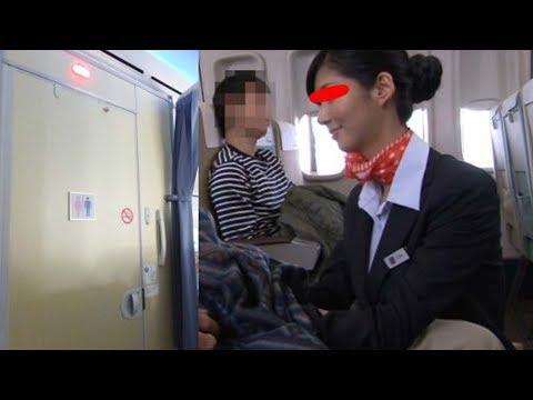フライト中にCAが機内のトイレで…CAの裏事情が・・・