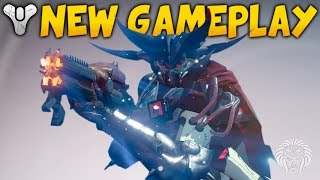 Destiny: rise of iron gameplay breakdown! raid boss, exotic weapons & enemies (fall dlc news)