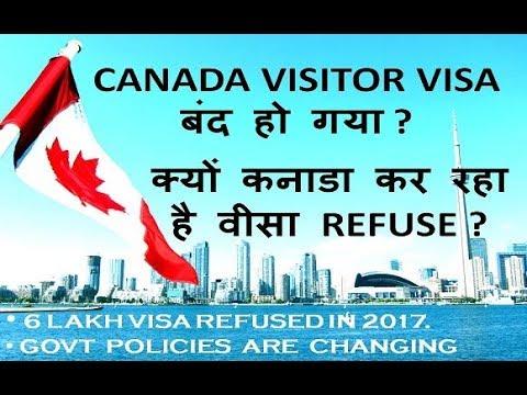 CANADA STOPS TOURIST VISA?