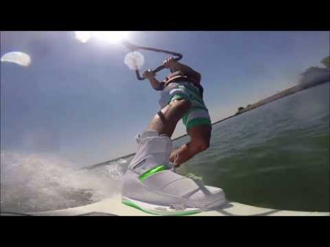 Wakeboarding With GoPro Wakeboard Mount!!