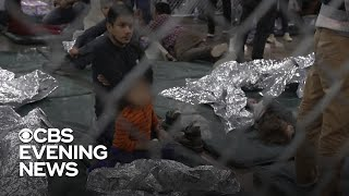 CBS News goes inside America's largest migrant processing facility