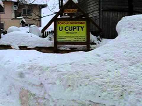 Obidowa zima 2012 u Cupty