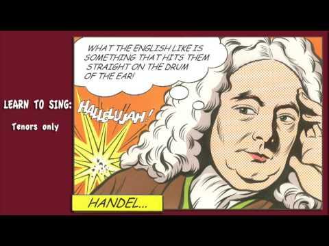 Hallelujah  - tenors only