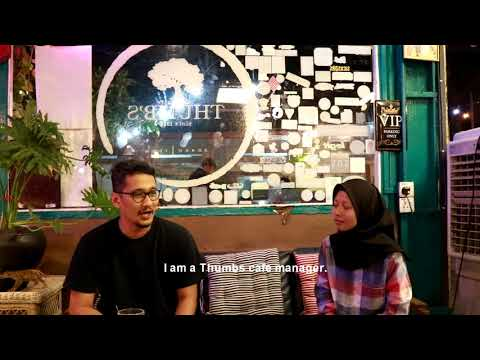Documentary Hipster Cafe In Ipoh