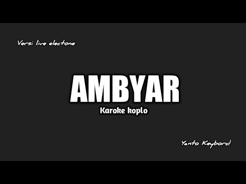 Ambyar Didi Kempot Karaoke Chords Chordify