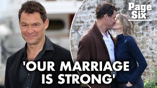 Is Dominic West having a real life affair with Lily James? | Page Six News