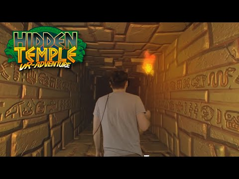 Virtual Reality (VR) live test of Hidden Temple - VR Adventure