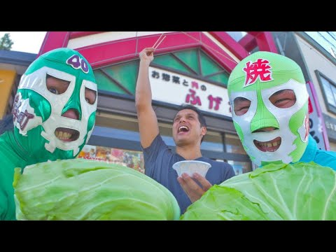 Ramen, Sashimi & Cabbage Man: Food Adventure ★ ONLY in JAPAN