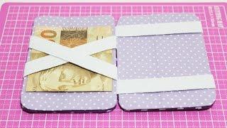 Carteira Mágica com Caixa de Leite – Passo a Passo – Segredos de Aline